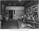Hitt Perfume Co. interior, Seattle, ca. 1920
