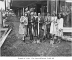 Columbia City street improvements, Seattle, September 1980