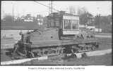 Seattle & Rainier Valley Railway work car, Seattle, ca. 1928