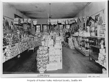 Hausler Grocery interior, Seattle, ca. 1935