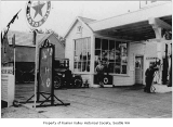 Texaco service station, Seattle, 1924