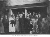 Christmas party at the Hastings home, Seattle, December 25, 1915