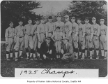 Rainier Valley Merchants baseball team, Seattle, 1925