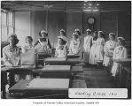 Cooking Class at Columbia School, Seattle, 1911
