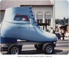 Skate King vehicle in Columbia City Days parade, Seattle, ca. 1980