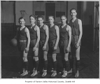 Columbia Congregational Church basketball team, Seattle, ca. 1924