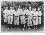 Columbia School baseball team, Seattle, 1934