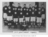 Hawthorne School soccer team, Seattle, 1917