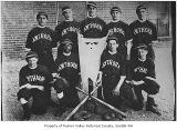 Hawthorne School baseball team, Seattle, 1916