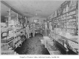 Rainier Beach Grocery interior, Seattle, ca. 1926