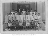 John Muir Grade School class photo, Seattle, 1924