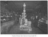 Hepler Grocery interior, Columbia City, ca. 1895