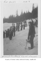Franklin High School Band at Snoqualmie Pass, January 1938