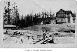 Firland Sanatorium construction site, Richmond Highlands, 1911