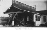 North Grove Service & Garage, exterior, Bitter Lake, ca. 1924