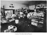 Rogers General Store, interior, Richmond Highlands, 1923