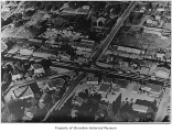 North 185th Street and Aurora Avenue North intersection and environs, aerial view, Richmond...