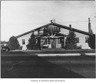 Bessie B restaurant, front entrance, exterior, Richmond Highlands, ca. 1935