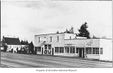 Cox's Garage, a Radio Shop and an Antiques store, Ronald, 1945
