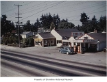 Art's Service Station and Bob's Radio Service, Richmond Highlands, ca. 1945