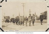 Boy Scout troop in formation, Richmond Beach, May, 1920