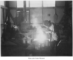 Man welding at Minidoka, ca. 1943