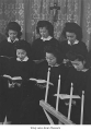 Women singing in Minidoka Choir, 1944