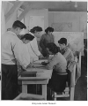 High school students in classroom at Minidoka, ca. 1943