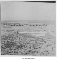 Aerial of Minidoka Relocation Center, ca. 1943