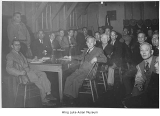Issei meeting, Minidoka, ca. 1943
