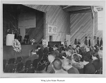 Memorial service at Minidoka, ca. 1943