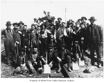 Northern Pacific Railway section foreman and crew, Auburn, 1910