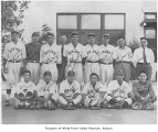 Auburn baseball team, probably in Auburn, ca. 1928
