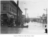 Flood in downtown Kent, ca. 1933
