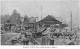 Lumber mill in Slaughter, ca. 1887
