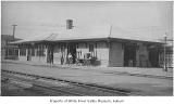 Northern Pacific Railway depot in Kent, ca. 1928