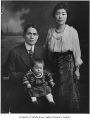 Ito family portrait, possibly taken in Thomas, 1920-1921