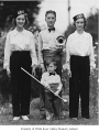Sparhawk children in Veterans of Foreign Wars Junior Drum and Bugle Corps, Auburn, ca. 1939