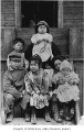 Iseri and Terada family children, Kent, ca. 1915