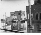 Kent Interurban power station flood, Kent, ca. 1915