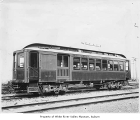 Interurban car number 508 in Kent, ca. 1915