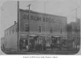 Berlin Brothers General Merchandise store, Kent, January 16, 1903