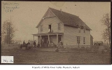 Ohio House Hotel, exterior, Slaughter, ca. 1881