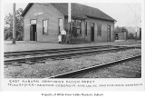 Northern Pacific Railway's East Auburn depot, Auburn, 1922