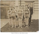 Auburn High School basketball team, Auburn, ca. 1925