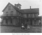 Alvord family home, exterior, Thomas, ca. 1885