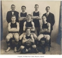 Auburn High School basketball team, probably in Auburn, 1914