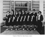 Auburn High School basketball team, Auburn, 1924
