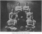 Kent High School basketball team, Kent, 1912