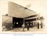 East Highway Garage, exterior, Thomas, 1927
